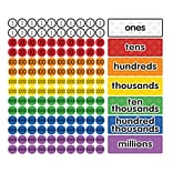 Dowling Magnets Magnet Math™ Magnetic Place Value Disks & Headings, Grades 3-6, 147 per pack (DO-732