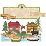 Teacher Created Resources Rustic Retreat Bulletin Board from Debbie Mumm, 83/Set (TCR5599)