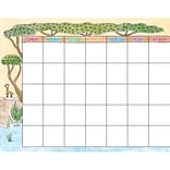 Creative Teaching Press Safari Friends Calendar Chart (CTP0544)