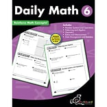 Daily Math Workbook, Grade 6 (CTP8192)