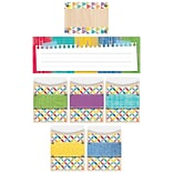 Creative Teaching Press Upcycle Style Name Plate/Label/Pockets Combo Set, 107ct, 9 1/2 x 4 1/4 (CT