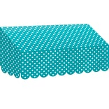 Teacher Created Resources Teal Polka Dots Awning (TCR77163)