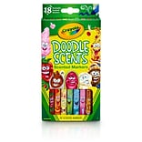 Crayola® Doodle Scents™ Markers, 18 colors/scents (BIN585070)