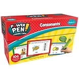 Teacher Created Resources Power Pen Learning Cards: Consonants, 53/pack (TCR6103)
