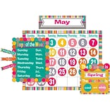 Teacher Created Resources Tropical Punch Calendar Bulletin Board, 84/Set (TCR2685)