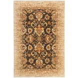 Mohawk Polyester Wanderlust Spree Gold Area Rug (797786000705)