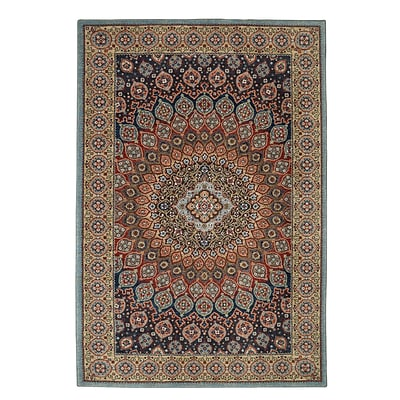 Mohawk Home Wanderlust Hase Sapphire Rug (797786000750)