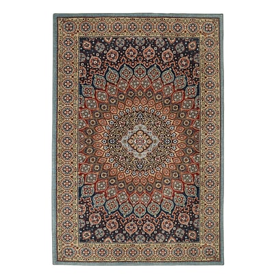 Mohawk Polyester Wanderlust Hase Cream Area Rug (797786000743)
