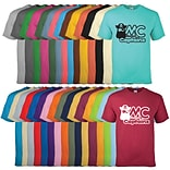 100% Cotton Colored T-Shirt