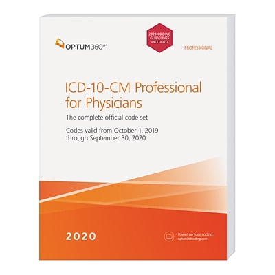 Optum360 2020 ICD-10-CM Professional for Physicians, Softbound with guidelines (GITPB20)