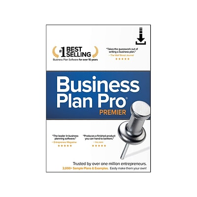 Palo Alto Software Business Plan Pro Premier, Windows, Product Key Card (ESD-BPP)
