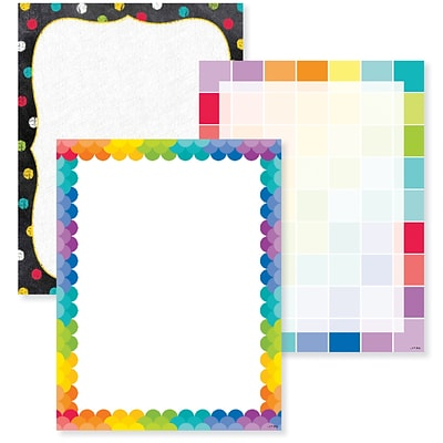 Creative Teaching Press Copy & Multipurpose Paper, Letter, 8.50 x 11, 150/Pack, Multicolor
