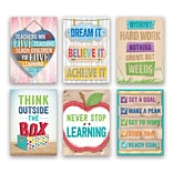 Creative Teaching Press® Inspire U Poster Set, 13.375 x 19, 6 Pack (CTP7284)