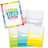 Creative Teaching Press Painted Palette Lesson Plan Book & 9x12 Library Pocket Organizers Combo (C