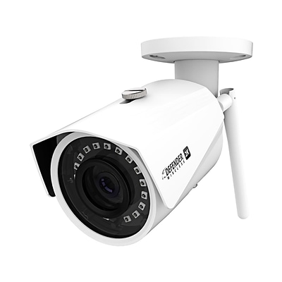 Defender Indoor/Outdoor Wi-Fi Security Camera, White (W2KCB1)