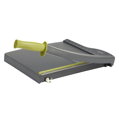 "Swingline® ClassicCut® Lite Guillotine Trimmer, 12"" Cut Length, 10 Sheet Capacity, Gray (9312)"