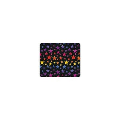 OTM Essentials Black Mouse Pad, Rainbow Star (OP-MH-Z068A)
