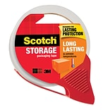 Scotch® Long Lasting Moving & Storage Packing Tape with Dispenser, 1.88 x 54.6 yds., Clear (3650-RD