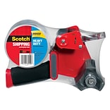 Scotch® Heavy Duty Shipping Packing Tape with Dispenser, 1.88W x 54.6 yds., Clear (3850-ST)