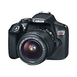 Canon® EOS Rebel T6 DSLR Camera with EF-S 18-55mm IS II and EF 75-300mm III lens