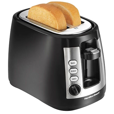 Hamilton Beach® 2 Slice Warm Mode Toaster, Black (22810)