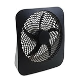 O2Cool® 10 Portable Fan with AC Adapter, Cool Gray (FD10002A)