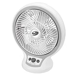 Bionaire® 10 Table Fan Circulator with Infinite Speed Control, White (BDF1011AGU)