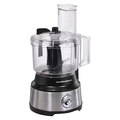 Hamilton Beach® 10 Cup Bowl Scraper Food Processor, Silver/Black (70730)