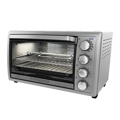 Black & Decker™ 9-Slice Rotisserie Oven, Silver (TO4314SSD)
