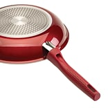 Ecolution® Bliss™ Stainless Steel 11 Fry Pan, Candy Apple Red (EBCAW5128)