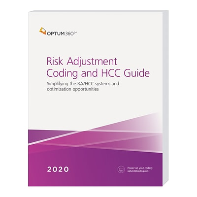 Optum360 2020 Risk Adjustment Coding and HCC Guide, Softbound (HCCA20)