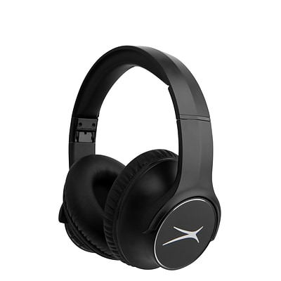 Altec Lansing R3volution X Wireless Bluetooth Headphones, Black (MZX009-BLK)