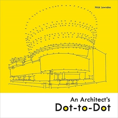 Batsford Books-An Architects Dot-To-Dot Adult Coloring Book