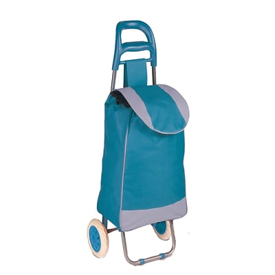 Honey Can Do R92022 - rolling knapsack bag cart, blue/grey ( CRT-03931 )