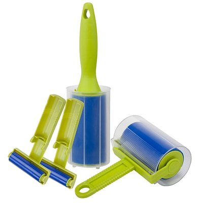 Honey Can Do Reusable lint roller kit, green / blue ( LNTX06695 )