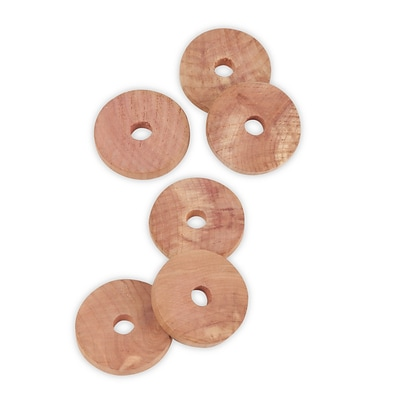 Honey Can Do Cedar Rings (36pk), natural cedar ( HNGZ01882 )