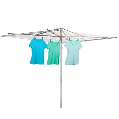 Honey Can Do outdoor umbrella dryer - 210ft, silver ( DRY-02201 )