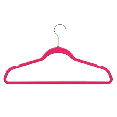 Honey Can Do 50 pack v Touch hangers, pink ( HNG-06498 )