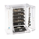 Honey Can Do Arielle Jewelry Chest, Clear ( STO-06383 )