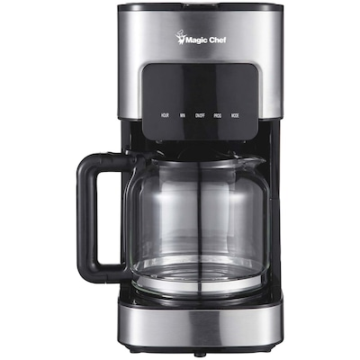 Magic Chef 12-cup Programmable Coffee Maker(Mcscm12ss)