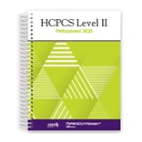 AMA HCPCS 2020 Level II Professional Edition, Spiralbound (OP231520)