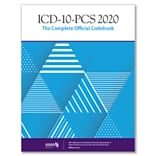 AMA ICD-10-PCS 2020 The Complete Official Codebook, Softbound (OP201120)