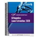 AMA 2020 CPT Coding Essentials for Orthopaedics Lower, Spiral Bound (OP259420)