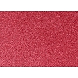 LUX A7 Flat Card  500/Pack, Holiday Red Sparkle  (4040-MS08-500)