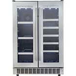 Danby Silhouette Lorraine 24 In. French Door Beverage Center