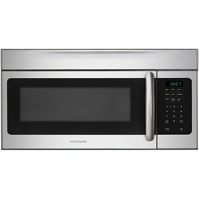 Frigidaire 1.6 Cu. Ft. Over-The-Range Microwave – Stainless Steel