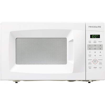Frigidaire 0.7 Cu. Ft. 700W Countertop Microwave - White