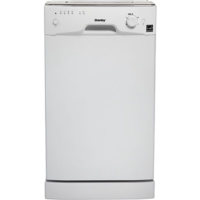 Danby Products 18 Built-in Dishwasher in White