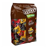 M&MS Chocolate Candy Fun Size Assorted Variety Mix 150 Piece Bag, 85.23 oz (MMM50944)