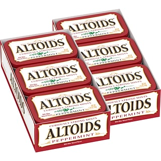 Altoids Peppermint Mints, 1.76 oz, 12 Pack (209-00483)